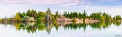 Die Insel im Zwenkauer See