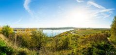 Ein warmer Herbsttag am Störmthaler See